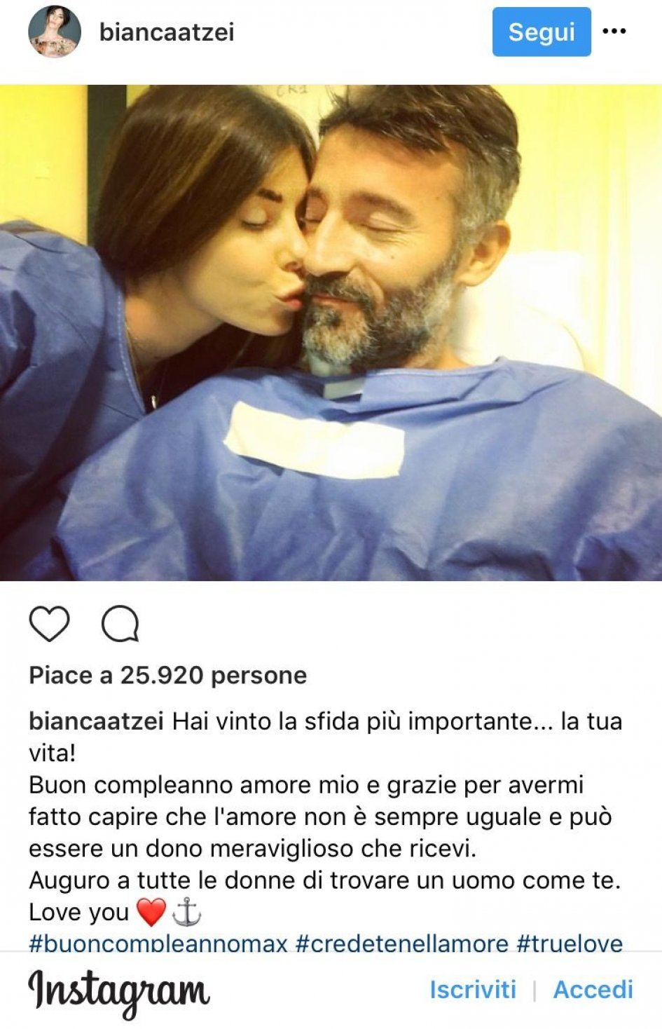 SBK: A Biaggi... kissed by good fortune on his birthday