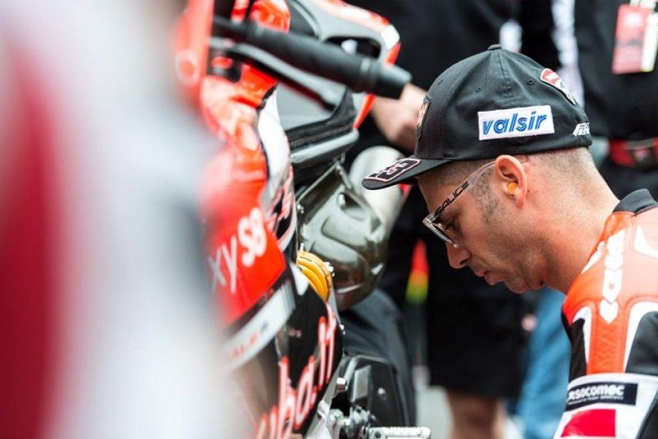 SBK: Melandri: Non ho ancora risolto i problemi della mia Ducati