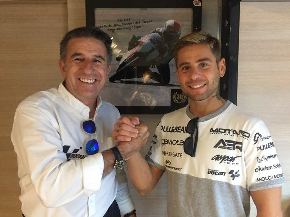 Ufficiale: Alvaro Bautista ha rinnovato con Aspar per il 2018