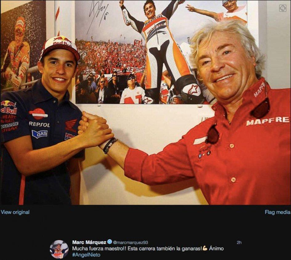 MotoGP: Marquez fa forza a Nieto: vincerai anche questa gara
