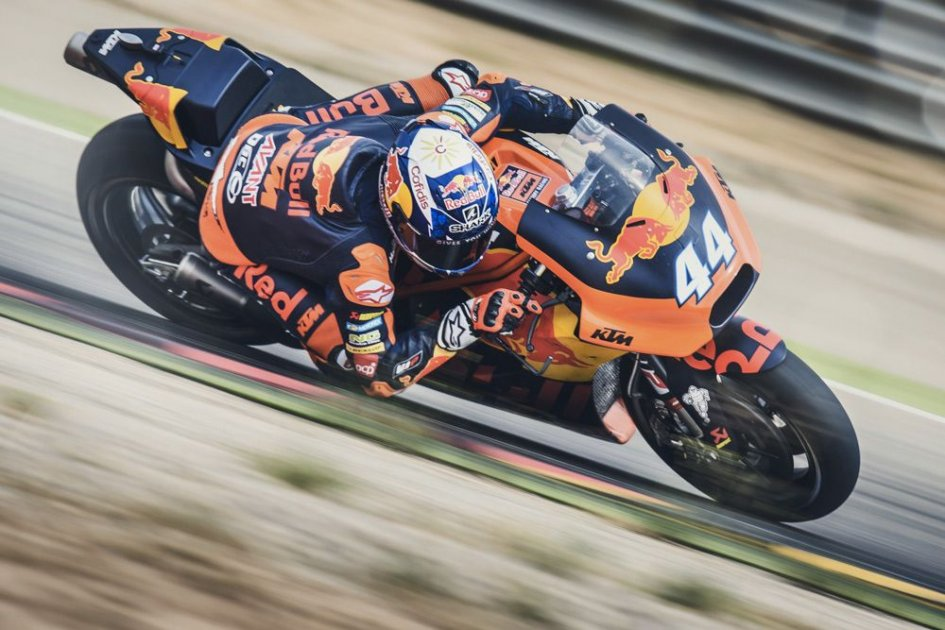 MotoGP: KTM test at Aragon: Oliveira rides the RC16