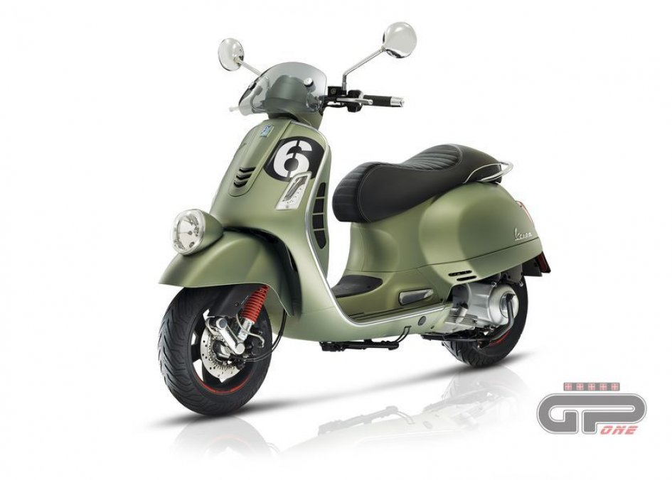 News Prodotto: Vespa 'Sei Giorni': the return of the legend