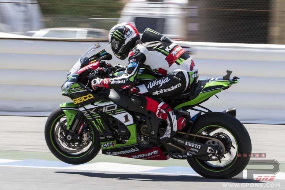 SBK: Rea: In race 2 I got the Kawasaki that I know back