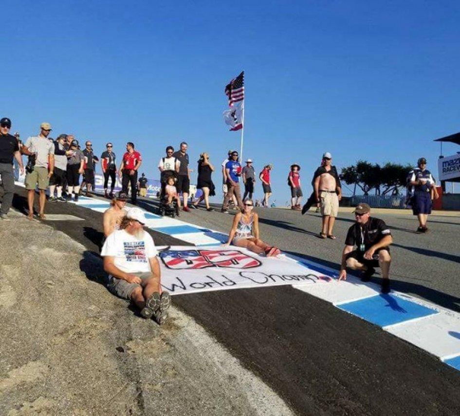 SBK: Laguna Seca ricorda Nicky Hayden e al Cavatappi brilla il 69