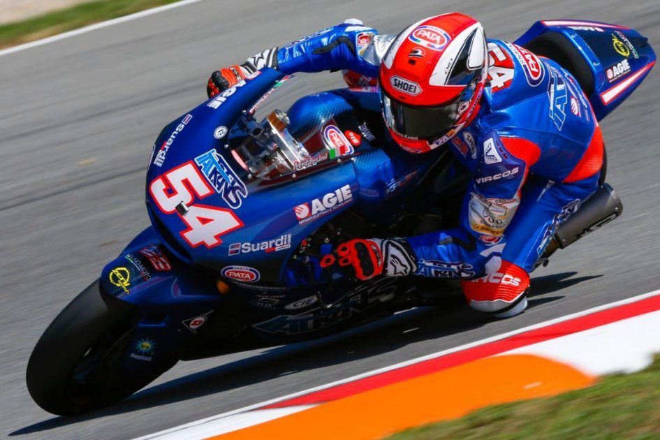 Moto2: Pasini back on pole, Morbidelli 3rd