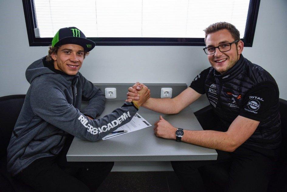 Moto3: Marco Bezzecchi and PrüstelGP together in 2018