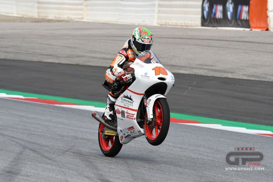 Moto3: Masia per due anni nel team Platinum Bay