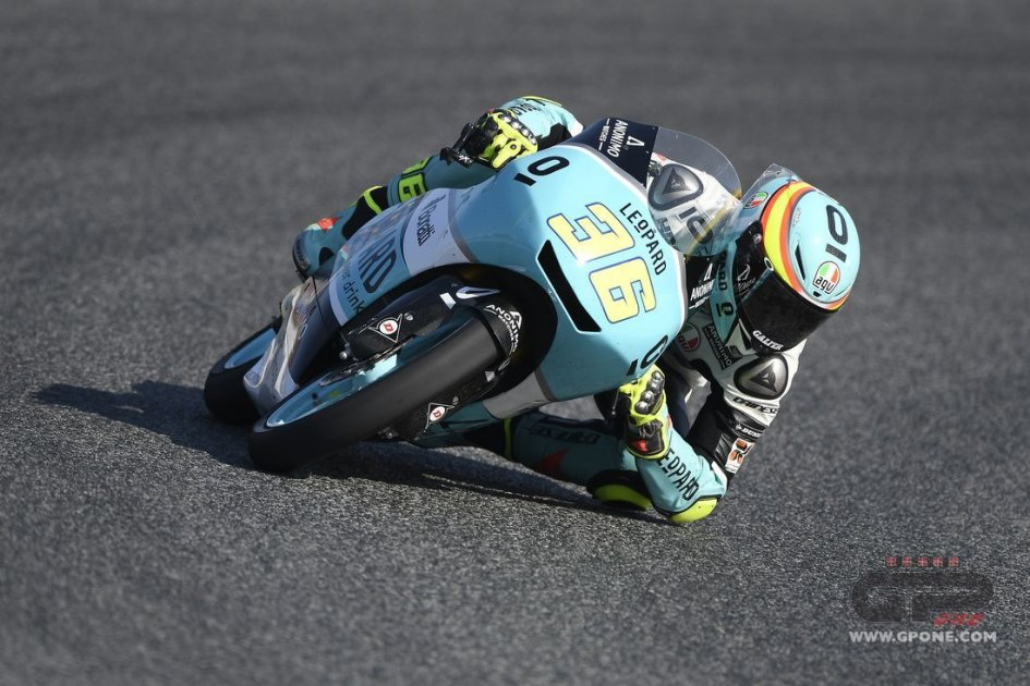 Moto3: Pista asciutta a Brno, Mir domina le FP2