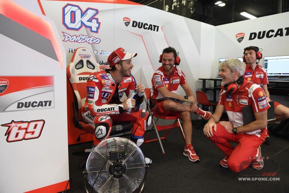 """MotoGP: Dovizioso: """"Possiamo giocarcela, ma occhio a Rossi"""""""
