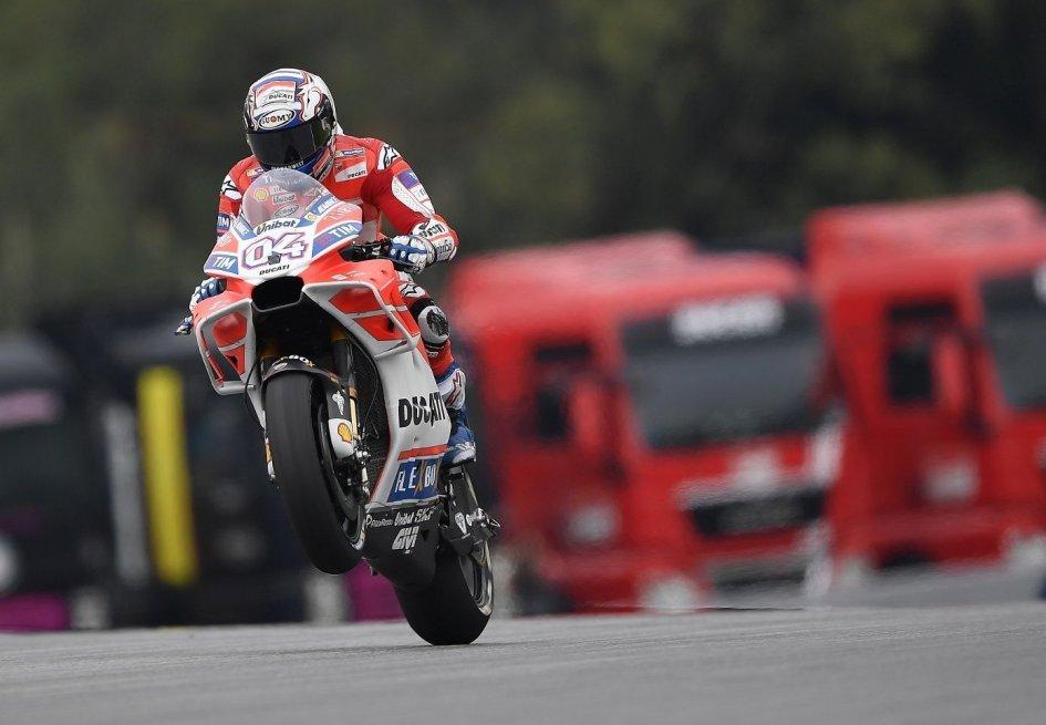 MotoGP:  Dovizioso: non mi aspettavo Marquez così vicino