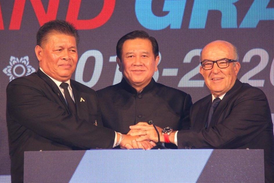 La MotoGP nel 2018 in Tailandia: ora è ufficiale