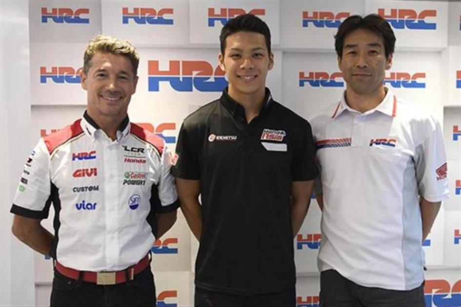 La Honda porta Nakagami in MotoGP Sarà il secondo pilota LCR