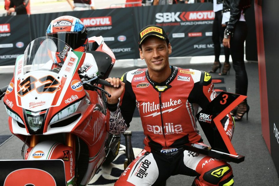 MotoGP: Test a Misano per Aprilia: Savadori prova la MotoGP
