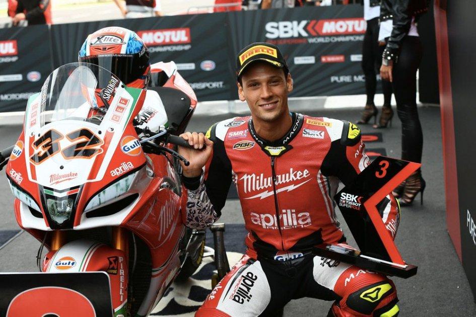 MotoGP: Test at Misano for Aprilia: Savadori tests the MotoGP