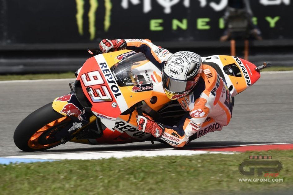 MotoGP: Marquez beats Rossi to pole at Brno