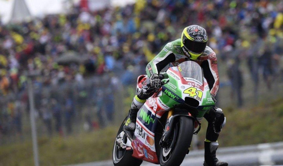 MotoGP: Espargarò: Aprilia più forte in Austria dopo i test di Brno