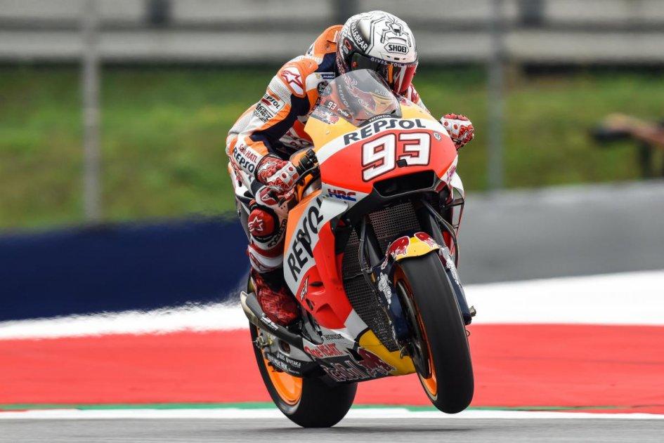 MotoGP Libere2 Zeltweg, fulmine Dovizioso; Vinales 2°, Rossi arranca: 12°