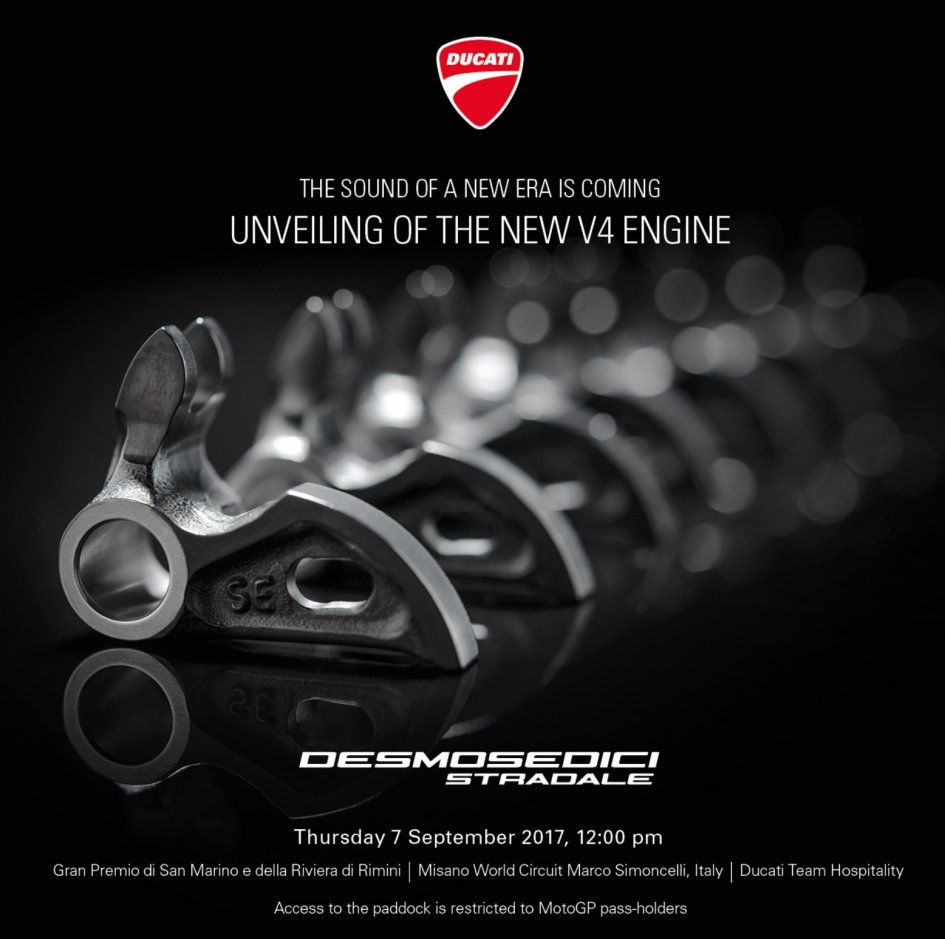 News Prodotto: Ducati: The sound of a new era is coming