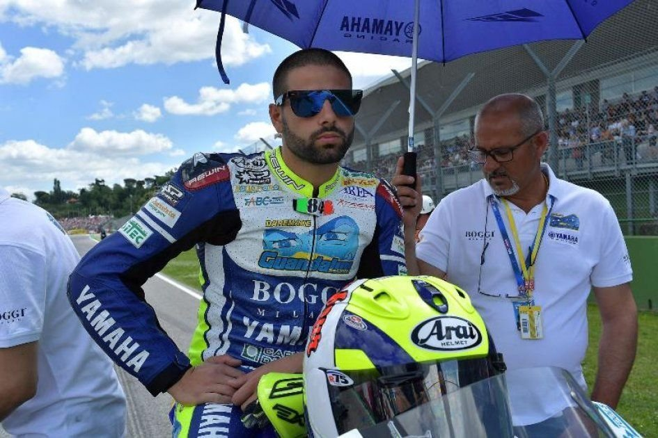 SBK: De Angelis out, Russo at Lausitzring with the Pedercini Kawa