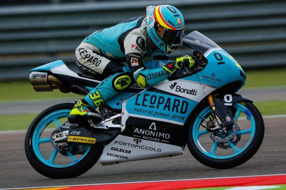 Moto3, GP Aragon: terze libere, Martin è il più veloce