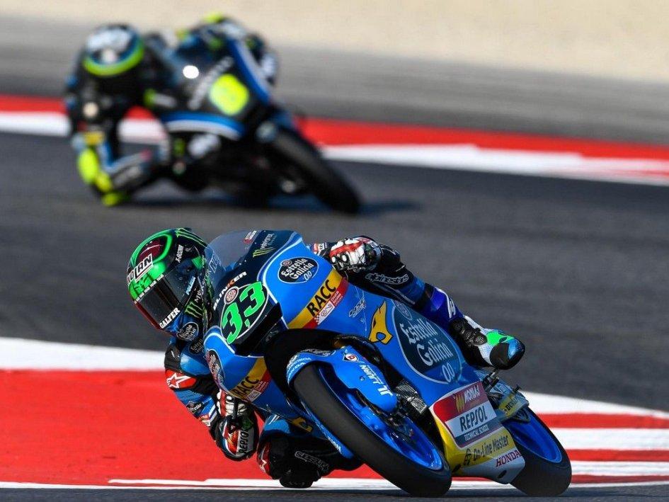 Moto3, Romano Fenati 'doma' una gara scivolosa: grande vittoria dell'italiano a Misano