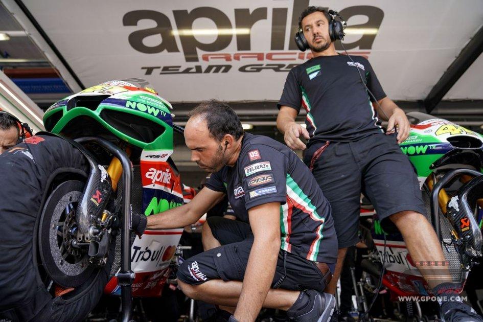 MotoGP: Aprilia with a new fairing at Misano