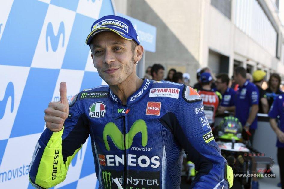MotoGP: Rossi: il segreto? andare in moto mi fa bene