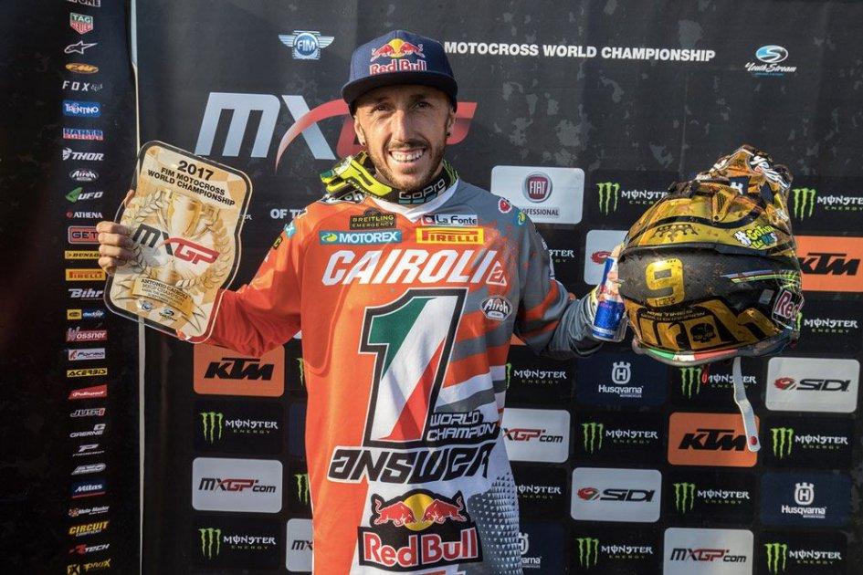 News: Red Bull gifts Cairoli a Formula 1 test