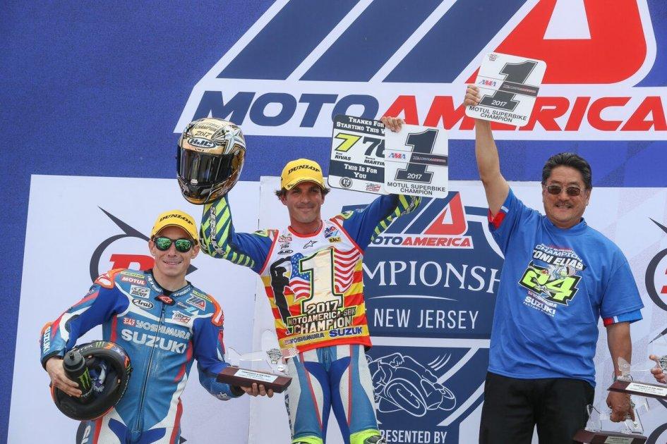 SBK: Toni Elias conquers America, scoring the Superbike title
