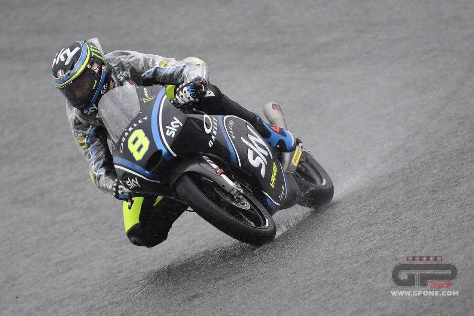 Moto3, podio tutto italiano