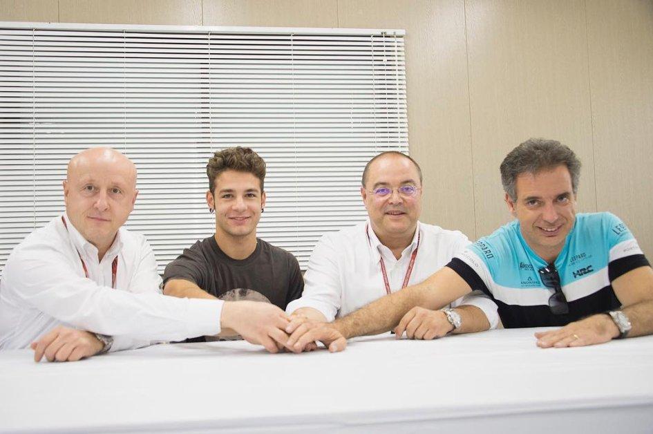 Moto3: Team tricolore per Leopard nel 2018: c'è anche Dalla Porta