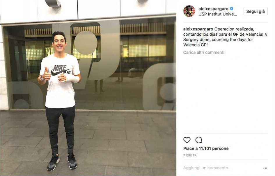 MotoGP: Aleix Espargarò has had surgery, will race at Valencia