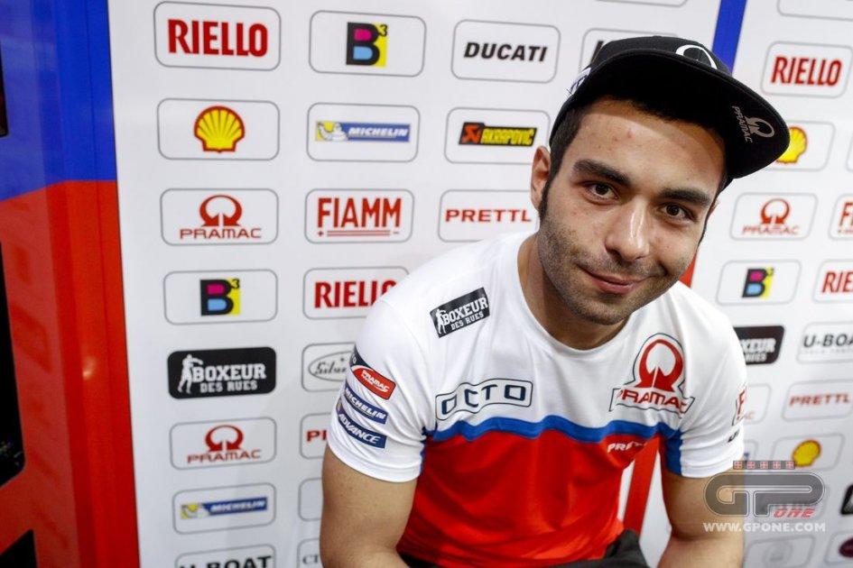 MotoGP: Petrucci: pioverà? non sarà il pilota più triste