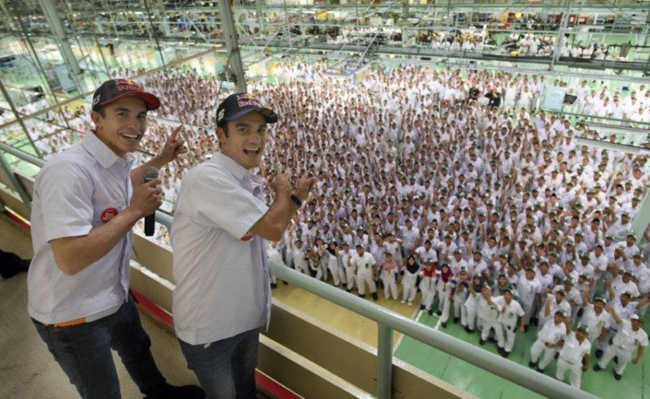 MotoGP: Marquez e Pedrosa, maestri di sicurezza in Indonesia