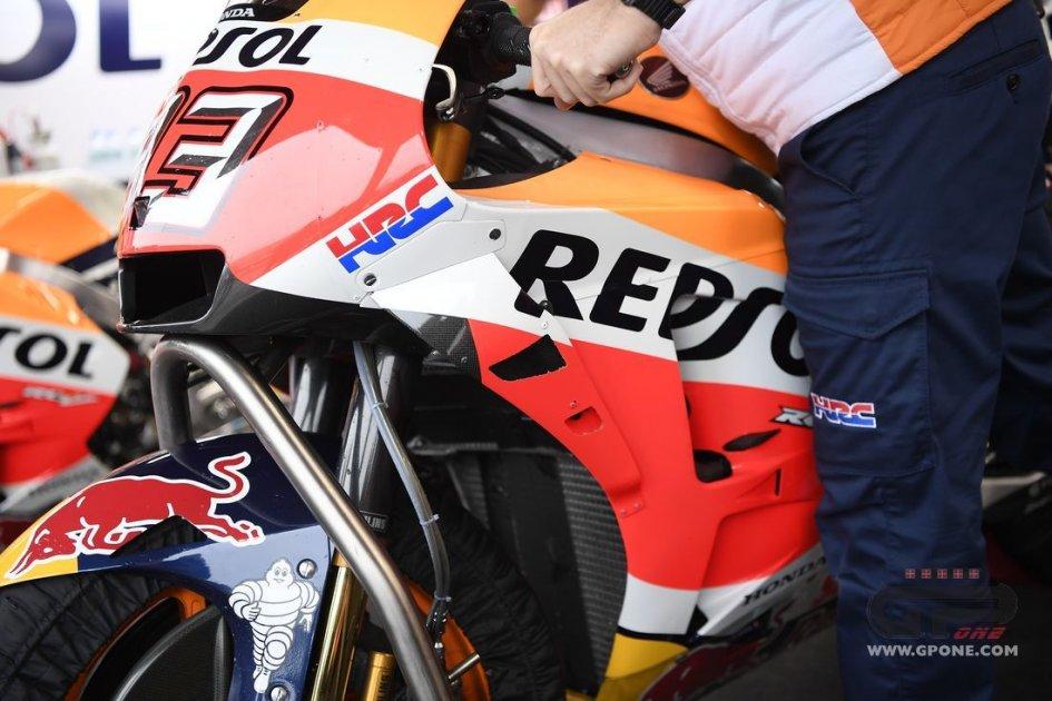 MotoGP: Honda opens 'windows' on Marquez's fairing