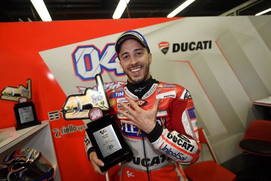 MotoGP: Adesso i bookmaker credono in Dovizioso, a 4,75 il titolo Mondiale