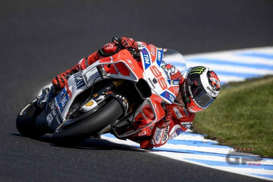 MotoGP: Lorenzo: sto pensando di tornare alla carena senza ali