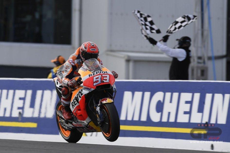 MotoGP: Marquez: più contento dei 33 punti che della vittoria
