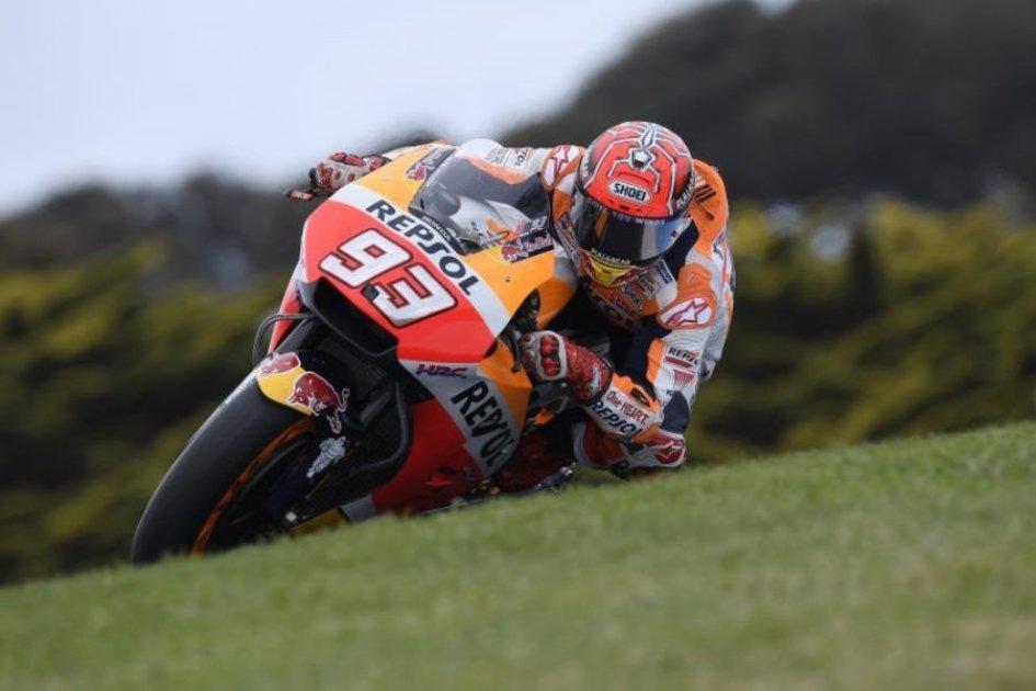 MotoGP: Phillip Island: trionfa Marquez, sprofonda Dovi, ora è a -33