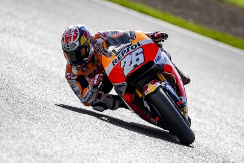 MotoGP: Pedrosa astonishes on pole, Dovizioso 3rd, Marquez 7th