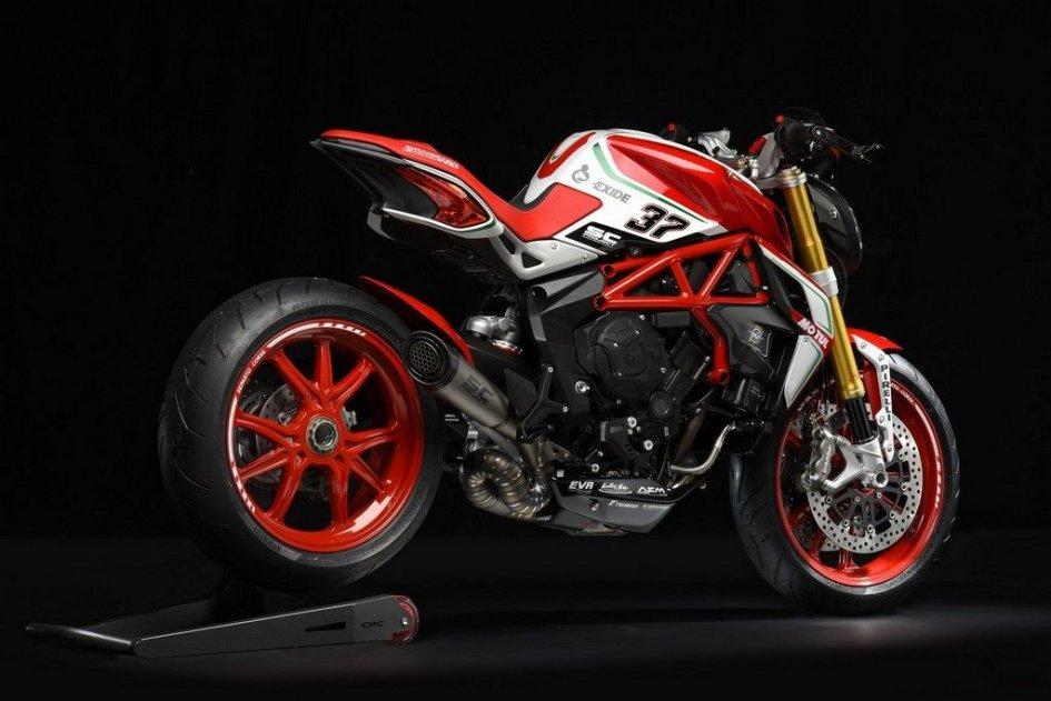 News Prodotto: MV Agusta Dragster 800 RC my18: grinta immutata