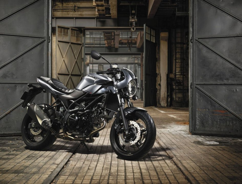 News Prodotto: Suzuki SV650X 2018: arriva la versione Cafè Racer della naked di Hamamatsu