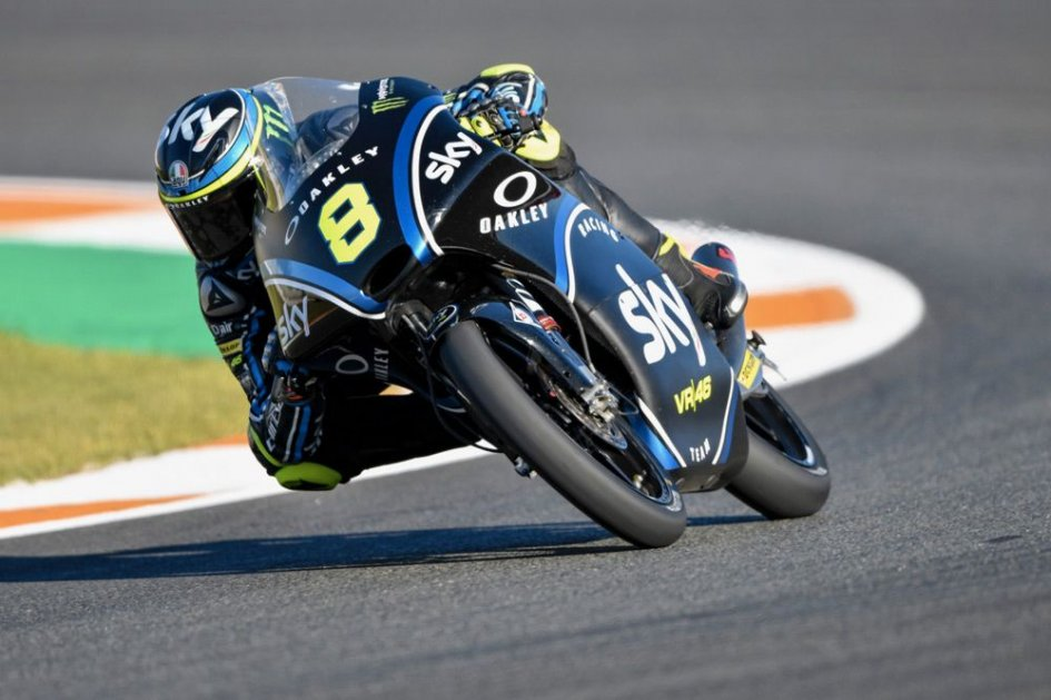 Moto3 Bulega operato in serata a Madrid