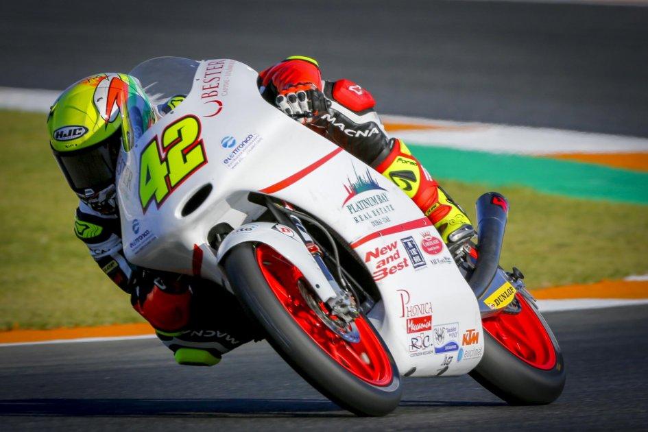 Moto3, Gp Valencia: la pole è di Jorge Martin