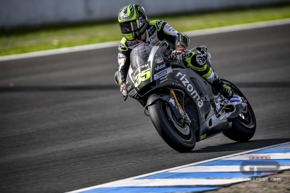 MotoGP: Crutchlow: pleased with the 2018 Honda prototype