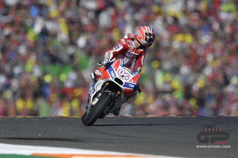 MotoGP: Dovizioso: oggi non ho perso ma fatto qualcosa di grande