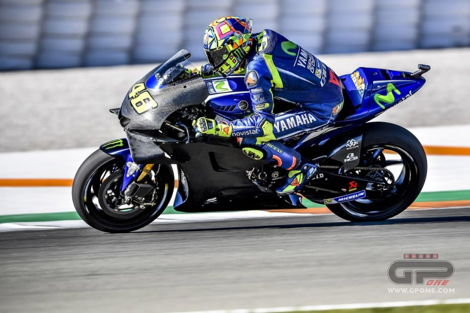 Motogp Rossi And Vinales Put The 2018 Engine To The Test At Sepang