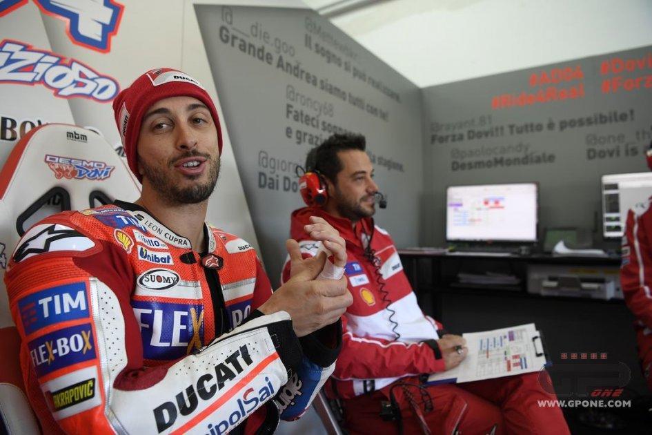 MotoGP: Dovizioso: è ancora tutto da scrivere