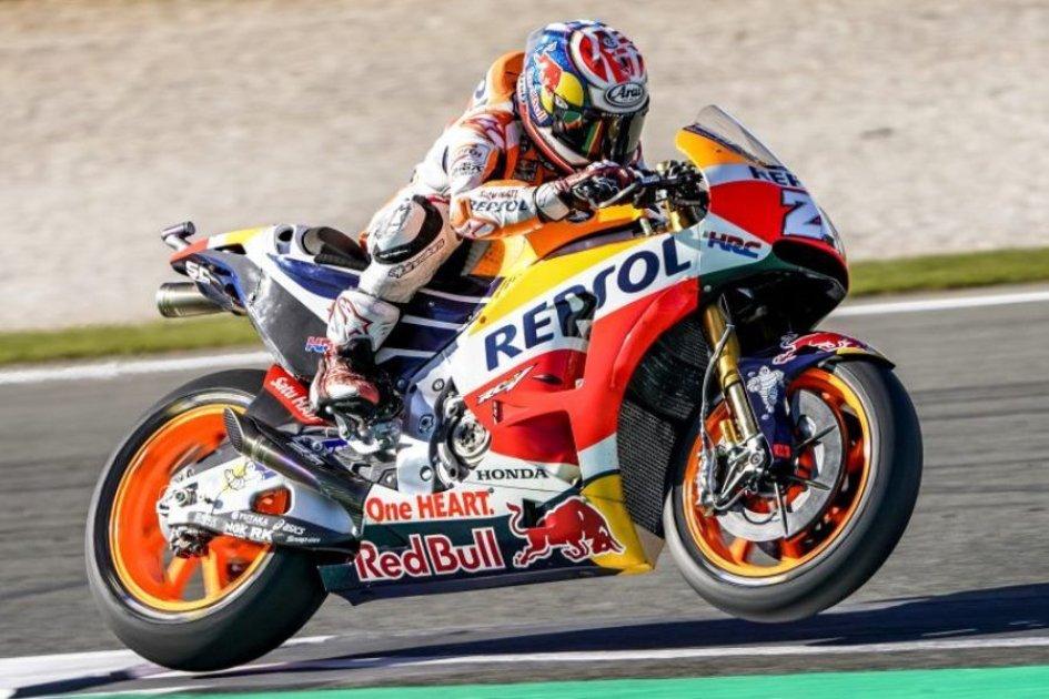"""MotoGP: Pedrosa: """"voglio essere forte, per me stesso e anche per Marc"""""""