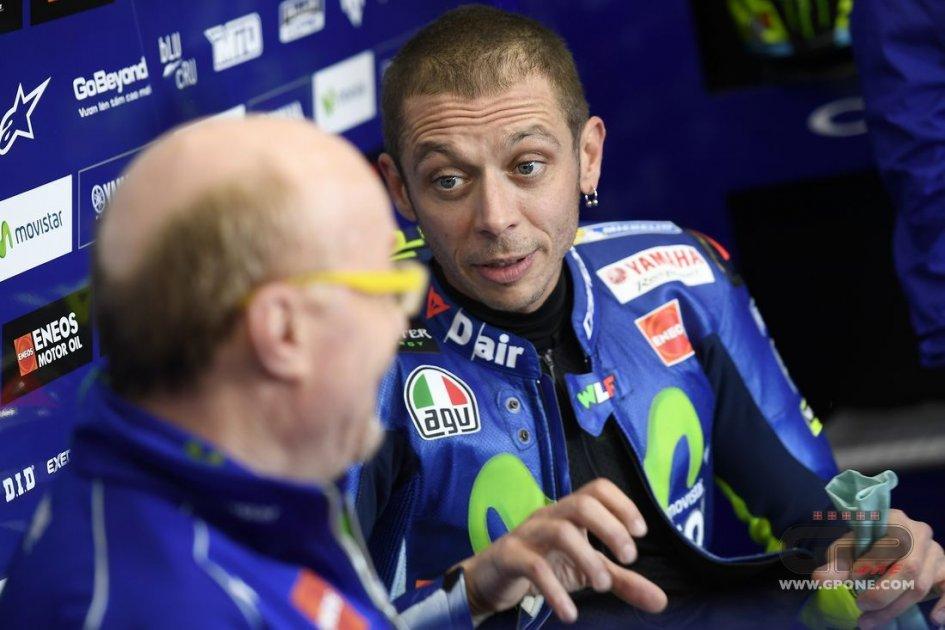 MotoGP: Rossi: in disaccordo con Vinales? una buona moto la soluzione